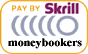 Pay by Moneybookers
